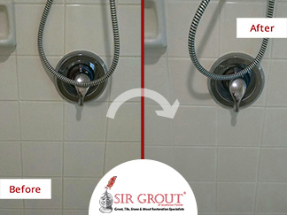 Tile Cleaning Service Prevents Costly Repairs to This Naples, Florida Homeowner's Stained Shower