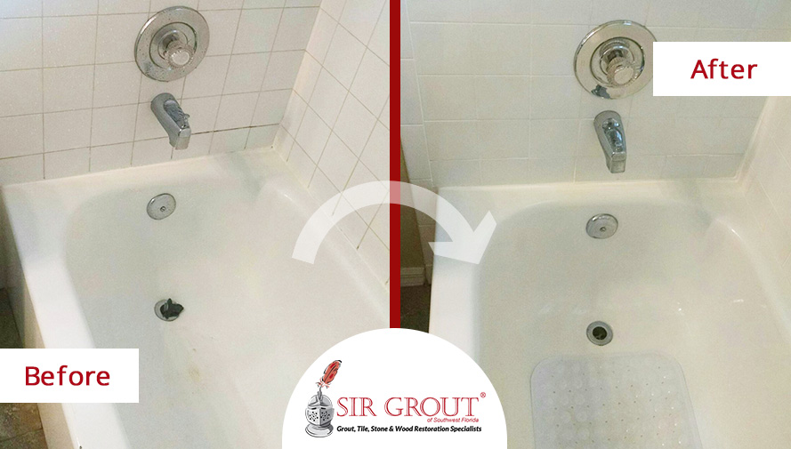 Amazing Color Seal Is A 2 In 1 Service That Seals And Recolors Grout To Give It A  Clean And Refreshed Look. They Also Used STAINMASTER® Epoxy Grout In Ice  White To ...