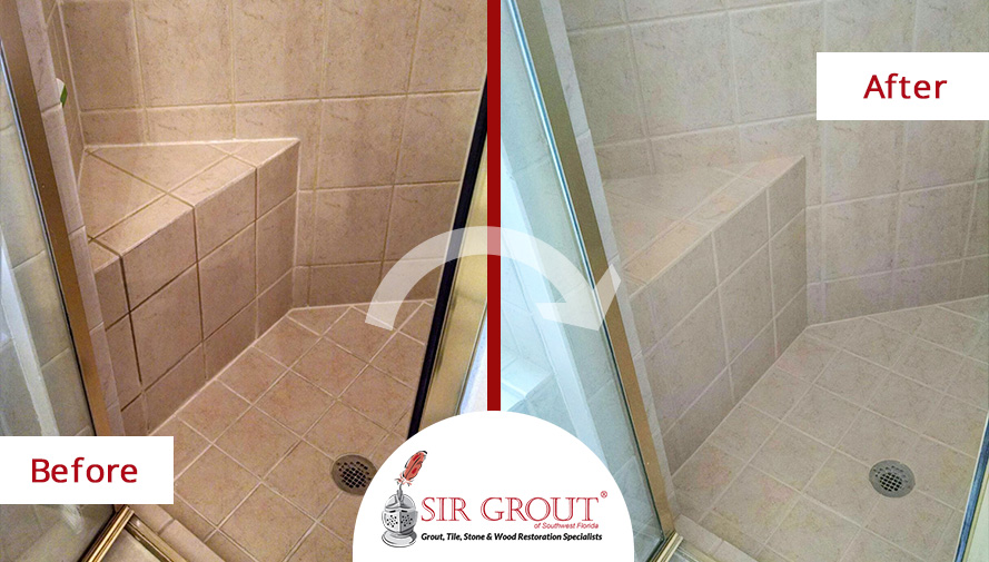 Learn How Our Tile And Grout Cleaners Revived The Beauty Of This - Bathroom grout cleaning services