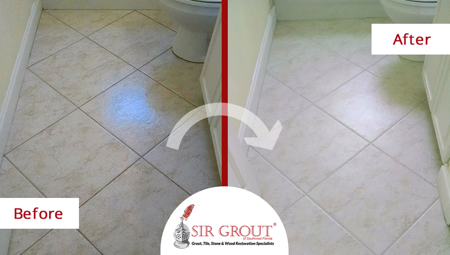 how to clean white grout in bathroom